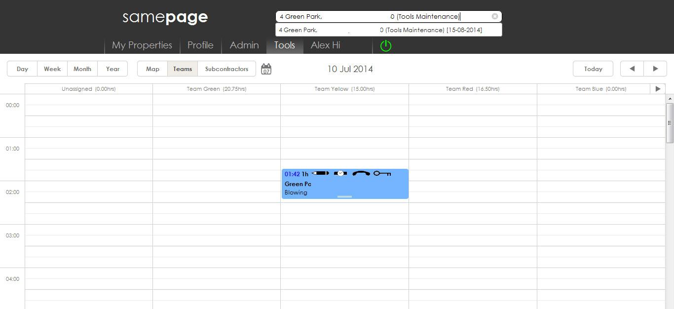 Calendar Search Image